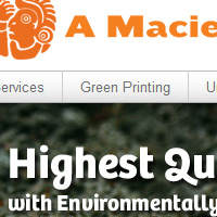 A. Maciel Printing : WordPress Website Design